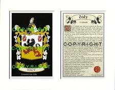 CULLETON to DALY - Your Family Coat of Arms Crest & History