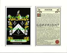 FLATLEY to FOSTER - Your Family Coat of Arms Crest & History
