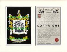 O'CALLAHAN to O'GRADY - Your Family Coat of Arms Crest & History