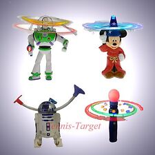 Disney Light Up Spinners Princess Toy Story Cars R2D2 *Theme Parks Exclusive!*