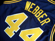 CHRIS WEBBER #44 COUNTRY DAY HIGH SCHOOL JERSEY NEW NAVY BLUE - ALL SIZES
