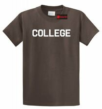 COLLEGE T-Shirt Funny Animal House (Movie) Party Tee FRAT UNIVERSITY SCHOOL