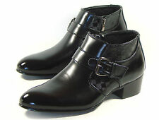 MOODA LOYWON New Mens Leather Ankle Boots Shoes For Men Oxfords Formals Casual