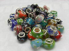Lampwork Glass Beads, Charms Bracelets, Arts Crafts, Collectors, FREE UK P+P