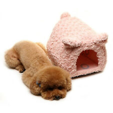 NEW Soft Cozy Warm Cute Piggy House For Small Dog Puppy Cat Pet Bed