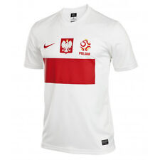 Official Licensed Product Men's Poland Home Shirt 2012 - 2013, Short Sleeve