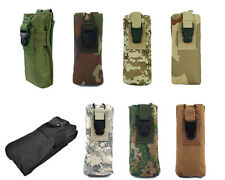 8 Color Airsoft Molle PRC 148 MBITR Radio/Walkie Talkie Pouch Bag Black/TAN A