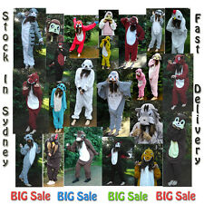 Unisex Animal Onesie Cosplay Costume Kigurumi Pajamas Sleepwear S/M/L/XL #3