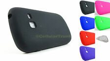 Samsung Galaxy Discover S730G Soft Silicone Gel Rubber Skin Case Cover + PryTool