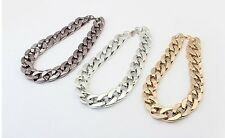 Wholesale Fashion Personality Punk Thick chain simple Statement Necklaces