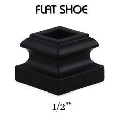 Cheap Stair Parts - Iron Baluster Shoes- FLAT & PITCH Shoes FAST DELIVERY.!
