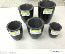 "SALAMANDER CLAY GRAPHITE MELTING CRUCIBLE ""SUPER""  A-0.5, A-1, A-2, A-3, or A-4"