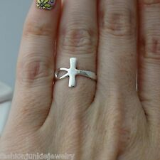Egyptian ANKH Cross Ring 925 Sterling Silver Size Selectable *NEW*