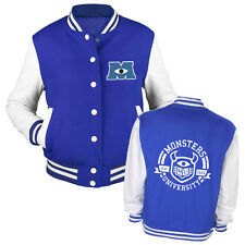 Monsters Inc 2 Varsity Jacket | University Mike Sully - Kids and Adults Sizes