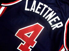 CHRISTIAN LAETTNER #4 TEAM USA JERSEY NEW NAVY BLUE - ALL SIZES