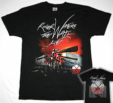 ROGER WATERS THE WALL LIVE 2013 TOUR EUROPE PINK FLOYD S-XXL NEW BLACK T-SHIRT