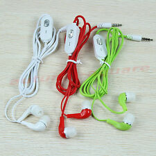 New 3.5mm In Ear Headphone Earphone Headset Earbuds With Mic For Nokia MP4 MP3