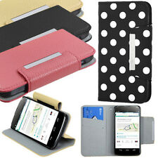 Folio Wallet Flip Faux Leather Book Style Card Holder Case for LG E960 Nexus 4