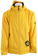 Sessions Evolution Snowboard Jacket Yellow Mens