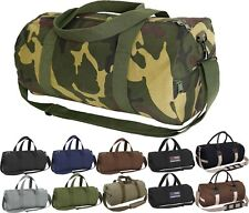 Canvas Sports Gym Duffle Carry Shoulder Bag & Strap - 19""