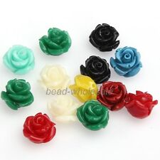 Free Shipping Gorgeous Rose Flower Coral Spacer Beads For Jewelry Making NEW