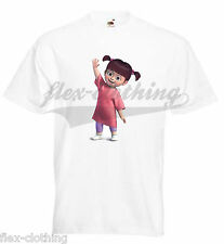 Monsters Inc University Boo Baby Cute Funny Printed T-Shirt UNISEX Brand New