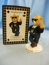 Regency Fine Arts Ornaments from Naughty Bear Collection (Not Bad Taste Bears)