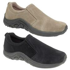 Mens Shoes Suede Leather Slip Ons FREE SHIPPING Size 6 7 8 9 10 11 12 13 14