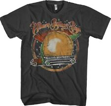 AUTHENTIC THE ALLMAN BROTHERS BAND SPACE PEACH ROCK BLUES BAND SHIRT S - 2XL