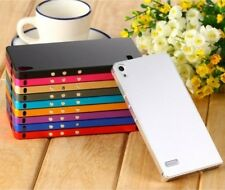 NEW Luxury Aluminum Metal Hard Cover Back Case For Huawei Ascend P6