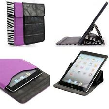 "Universal Leather Smart Case Stand Pouch Cover for 7"" 8"" Tablets  eBook Readers"