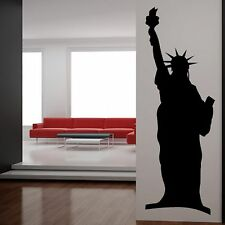 Statue of Liberty Monument America Wall Sticker Modern Art Design Graphic CU22