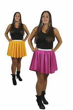 "New Fragment Flower Skater Skirts 15"" Roller Derby Girl Childs Adults"