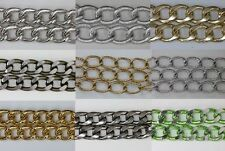 Free Ship! 1Meter Aluminum chain fit Make Necklace Pick Style Color