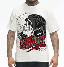 AUTHENTIC FALL '13 SULLEN VESSEL WHITE TATTOO ART PUNK GOTH MENS T SHIRT S-4XL