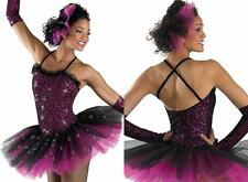 MOMMAS PLACE Ballet Tutu Dance Costume Includes Hair Pouf & Gloves Adult L or XL