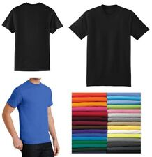 MEN'S T-SHIRT, CREW, 50/50 COTTON/POLY, WRINKLE RESISTANT, S-L XL 2X 3X 4X 5X 6X