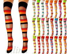 NEW FASHION EVERYDAY LADIES OVER KNEE STOCKINGS HIGH THIGH STRETCH SOCKS WOMENS