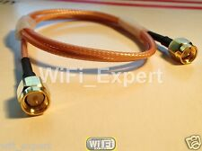 3M 6M 9M Antenna RP-SMA or SMA Extension Cable for Wi-Fi Router RG316 COAX USA