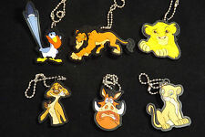 Lion King Keyring/Dangler Simba, Sarabi, Zazu, Timon, Pumbaa, Scar, All 6