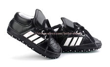 Baby Boy Black Soft Sole Crib Shoes Sport Sneaker Size Newborn to 18 Months