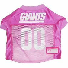 NEW YORK GIANTS PINK Dog Jersey NFL Officially Licensed Football Pet Product