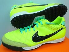 NIKE TIEMPO NATURAL IV LTR TF ASTRO TURF FUTSAL FOOTBALL SOCCER TRAINERS SHOES