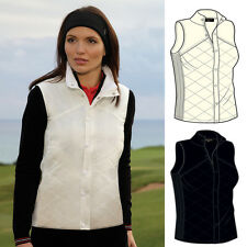 2014 Glenmuir Beyonce Womens Storm Bloc Quilted Performance Golf Gilet *New OUT*