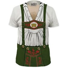 OKTOBERFEST BEER GERMAN DUTCH HAIRY CHEST COSTUME OUTFIT T SHIRT TEE S-2XL