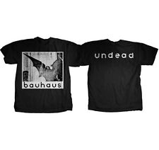 AUTHENTIC BAUHAUS UNDEAD DISCHARGE GOTHIC ROCK T TEE SHIRT S M L XL