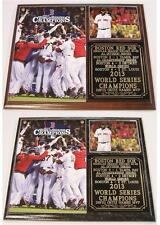 Boston Red Sox 2013 World Series Champions Photo Plaque David Ortiz MVP