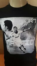 CR7   # 1   MENS  TEE CRISTIANO RONALDO T-SHIRT  REAL MADRID SHIRT  MADRID
