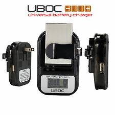 Universal Battery Charger For Digital Camera Cell Phone & More Fast Shipping