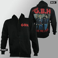 Authentic CHARGED GBH G.B.H. Give Me Fire Logo Zipup HOODIE S M L XL 2XL NEW
